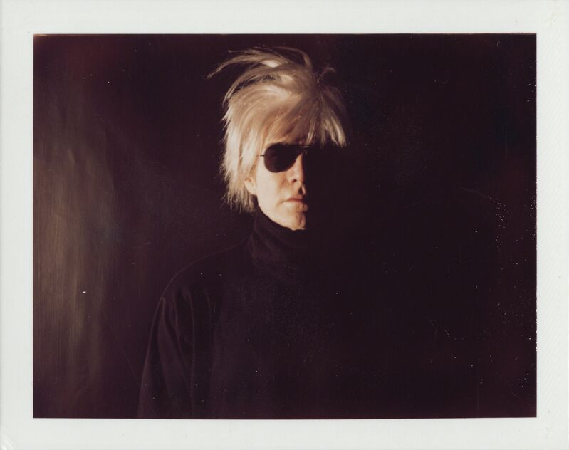 Andy Warhol, 'Self-Portrait in Fright Wig', ca. 1986, Photography, Unique polaroid print, Christie's Warhol Sale