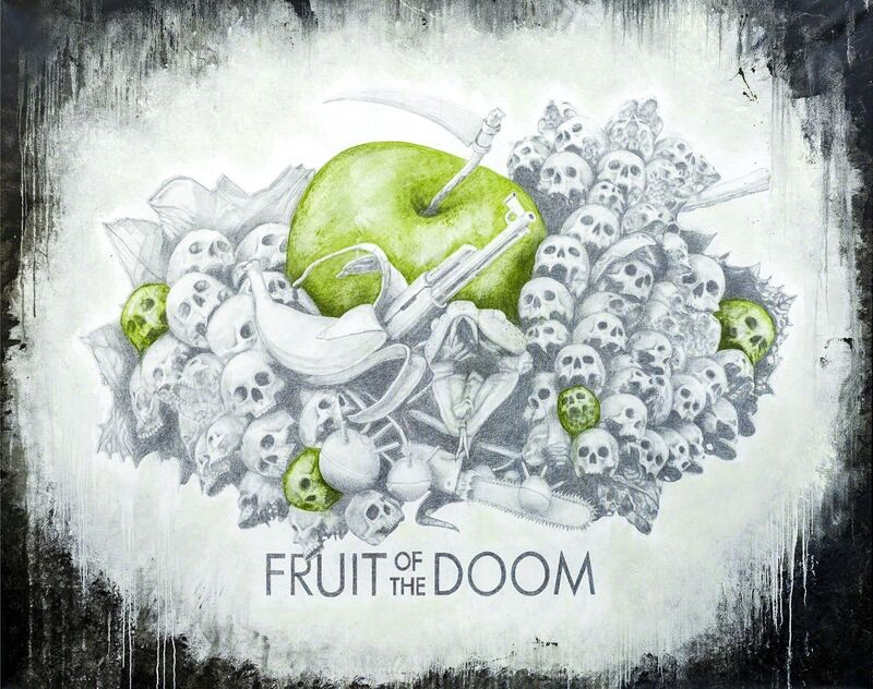 Ludo, 'FRUIT OF THE DOOM', 2014, Painting, Oil, spraypaint and charcoal, Cohle Gallery