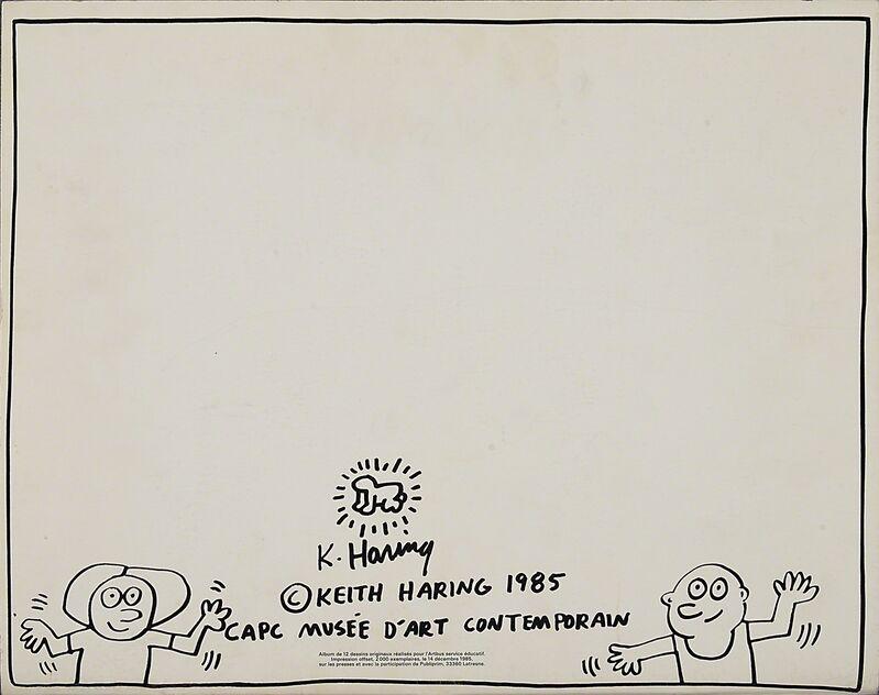 Keith Haring, 'Two works of art:  Luna Luna, a Poetic Extravaganza; Keith Haring's Fun Book!!', Rago/Wright