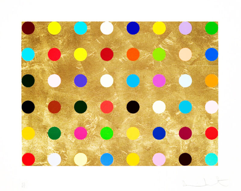 Damien Hirst, 'Gold Thioglucose', 2008, Print, Screenprint on gold leaf, Vogtle Contemporary