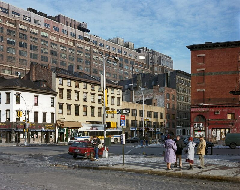 Brian Rose, 'West 14th Street and Ninth Avenue, 1985', 1985, Photography, Chromogenic color print, Dillon + Lee