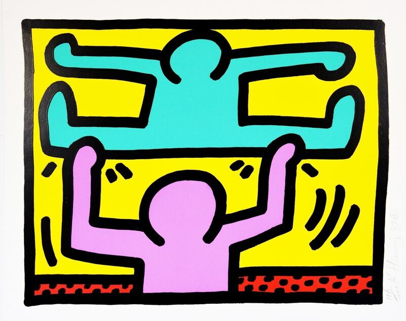 Keith Haring, 'Pop Shop I', 1989, Print, Screenprint in colours, Forum Auctions
