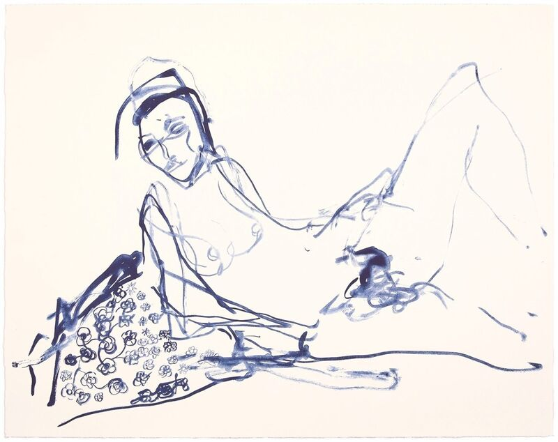 Tracey Emin, 'TRACEY EMIN- I LOVED MY INNOCENCE ', 2019, Print, 1 colour lithograph on Somerset Velvet Warm White 400gsm, Arts Limited