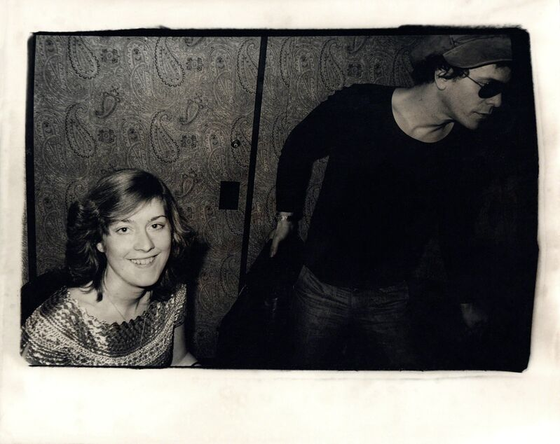 Andy Warhol, 'Andy Warhol, Photograph of Catherine Guinness and Lou Reed circa 1977', ca. 1977, Photography, Silver gelatin print, Hedges Projects