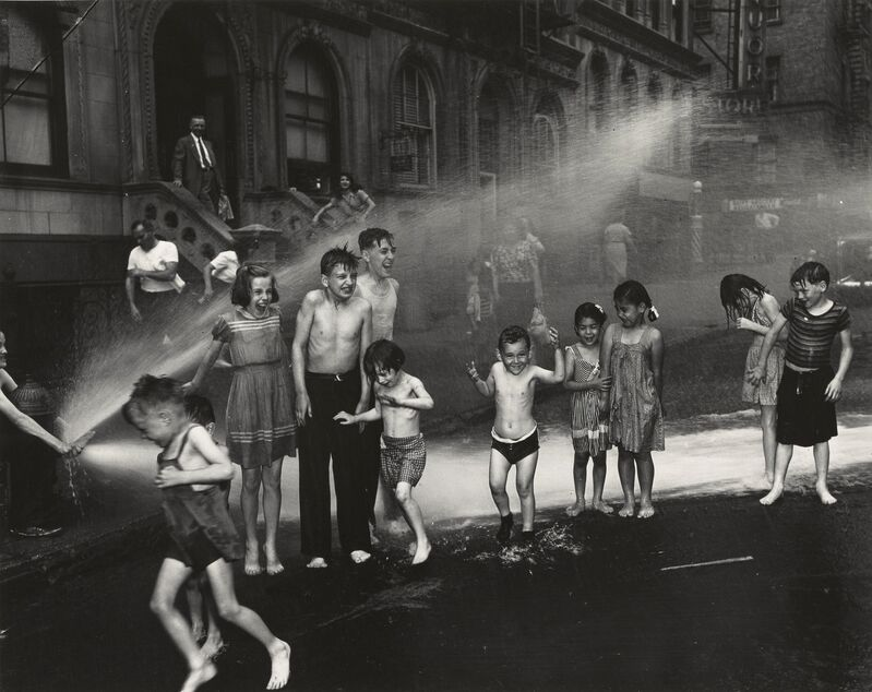 Weegee, '[Summer, The Lower East Side, New York City]', summer 1937, Photography, Gelatin silver print, J. Paul Getty Museum