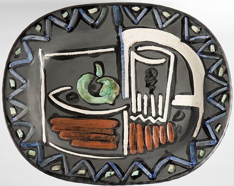 Pablo Picasso, 'Nature morte', 1953, Sculpture, Polychrome glazed ceramic, BAILLY GALLERY