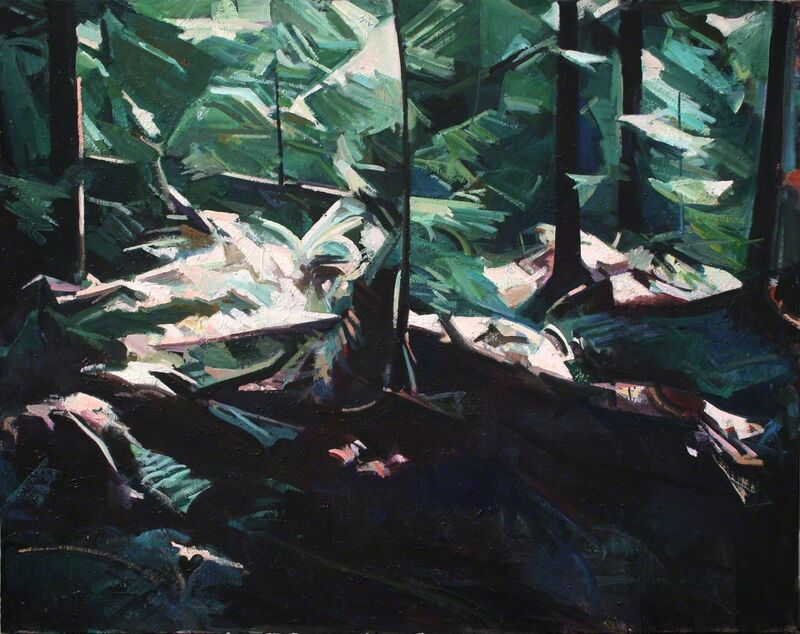 Kenneth Lochhead, 'Gala', 1994, Painting, Oil on canvas, Wallace Galleries