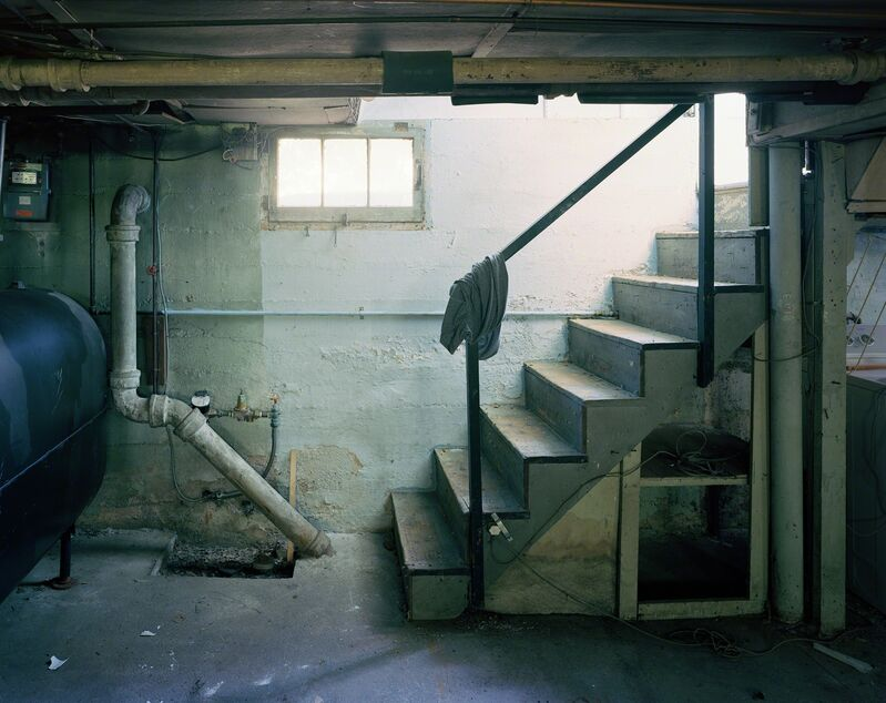 Jade Doskow, 'Shirt-Rag and Stairs', 2017-2018, Photography, Archival pigmrnt print, Tracey Morgan Gallery