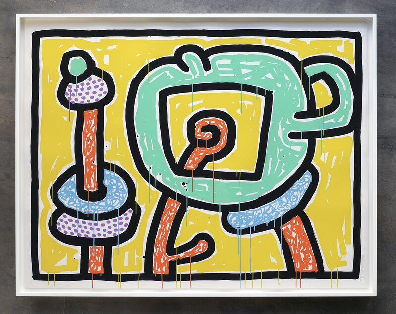 Keith Haring, 'Flowers III', 1990, Print, Screenprint on Coventry paper, Joseph Fine Art LONDON