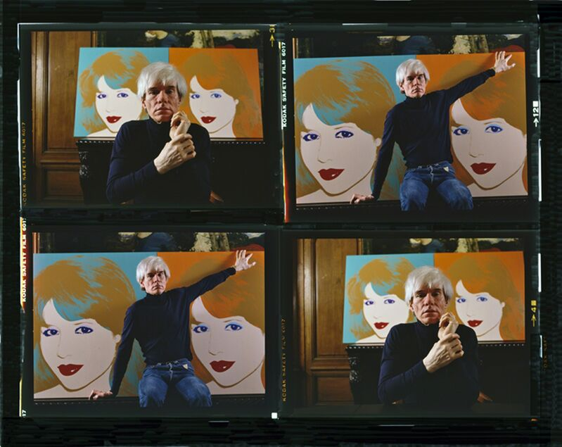 Harry Benson, 'Andy Warhol Times 4 Color', 1983, Photography, Archival pigment print, Cavalier Ebanks Galleries