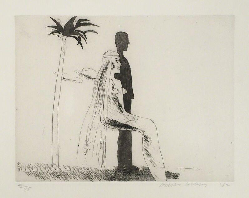 David Hockney, 'The Marriage', 1962, Print, Etching and Aquatint, Gerrish Fine Art