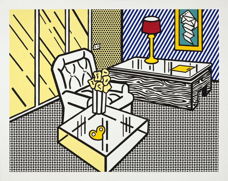 Roy Lichtenstein, 'The Den', 1991, Print, 7-color woodcut and screenprint, Gemini G.E.L. at Joni Moisant Weyl