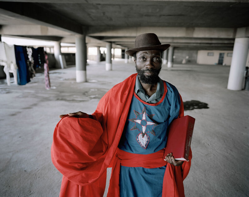 Mikhael Subotzky, 'Onious Mthembo, Ponte City', 2008, Photography, Dibond-mounted print on semi-matte paper, Goodman Gallery