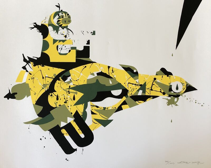 Tomokazu Matsuyama, 'Fl-ye', 2007, Print, Screen print on acid free uncoated paper, Artsy x Forum Auctions