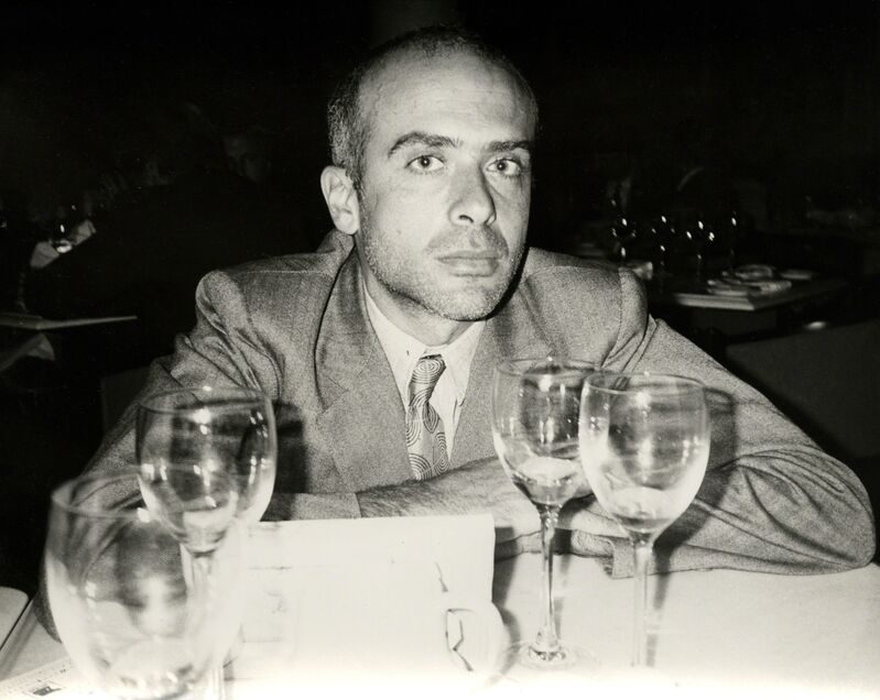 Andy Warhol, 'Andy Warhol, Photograph of Francesco Clemente, 1986', 1986, Photography, Silver gelatin print, Hedges Projects