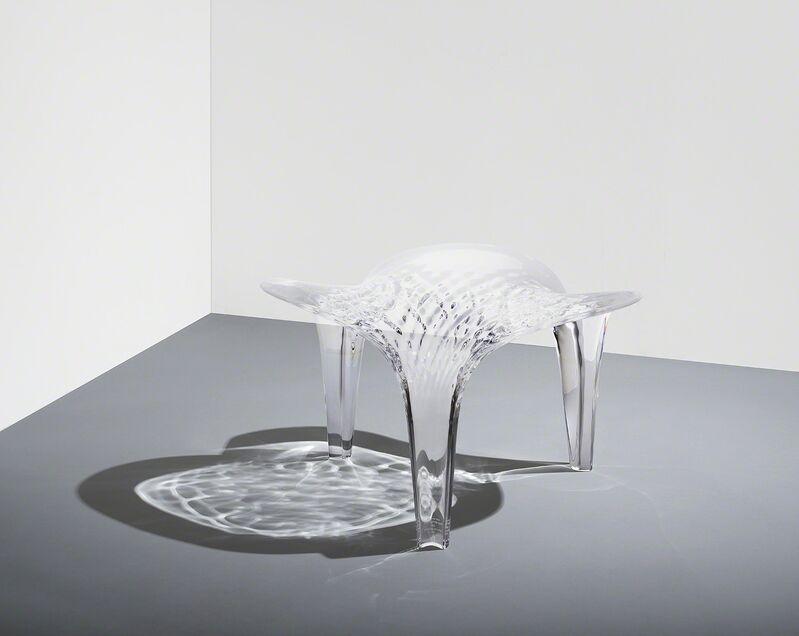 Zaha Hadid, 'Stool 'Liquid Glacial'', 2015, Design/Decorative Art, Acrylic, David Gill Gallery