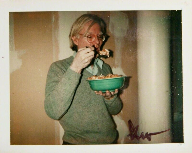 Andy Warhol, 'Andy Warhol, Polaroid Photograph of Andy Warhol Eating Cornflakes, 1970', 1970, Photography, Polaroid, Hedges Projects
