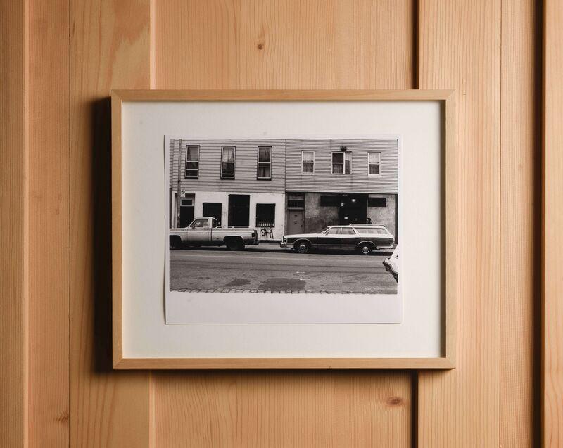 Steven Parrino, 'Studio Photo', ca. 1990, Photography, Black-and-white photograph, Marc Jancou