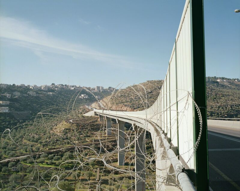 Yishay Garbasz, 'Tunnel Road No. 2', 2004, Photography, Chromogenic print, Ronald Feldman Gallery