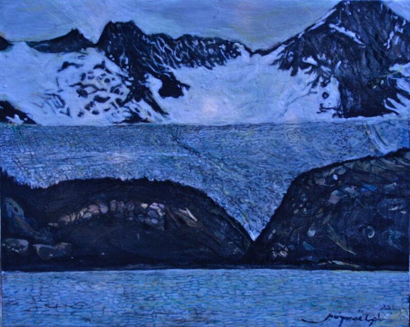 Marjorie Scholl, 'Glacial', 2012, Painting, Acrylic on Canvas, McVarish Gallery