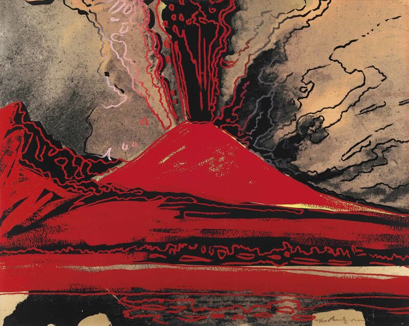 Andy Warhol, 'Vesuvius', 1985, Print, Screenprint in colours on Arches 88 paper, Zeit Contemporary Art