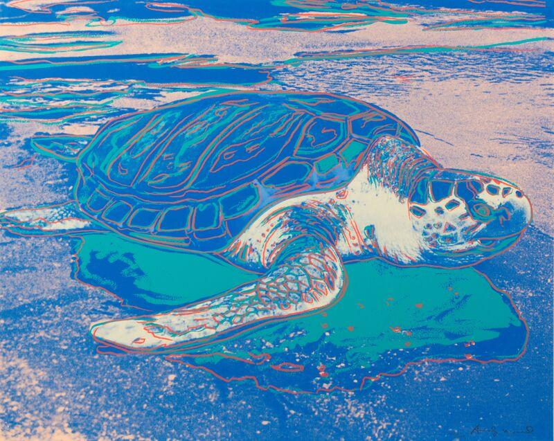 Andy Warhol, 'Turtle', 1985, Print, Screenprint, Hindman