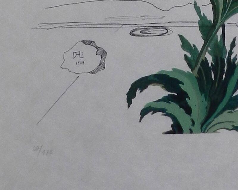 Salvador Dalí, 'Flora Dalinae Chrysanthemum', 1968, Print, Etching, Fine Art Acquisitions Dali