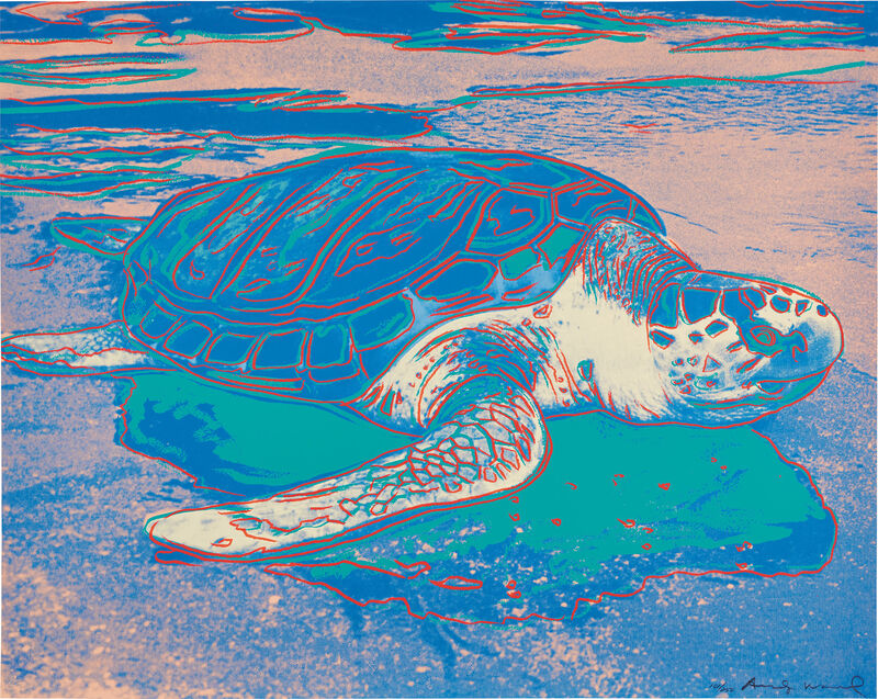 Andy Warhol, 'Turtle', 1985, Print, Screenprint in colors, on Lenox Museum Board, the full sheet., Phillips