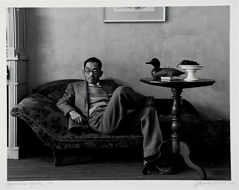 Arnold Newman, 'Yasuo Kuniyoshi', 1941, Photography, Gelatin silver print mounted to board, Rago/Wright/LAMA