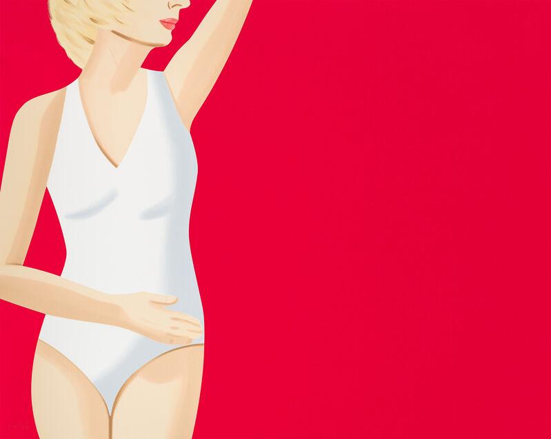 Alex Katz, 'Coca-Cola Girl 4', 2019, Print, 18-color silkscreen on Saunders Waterford, Hot Press, High White, 425 gsm paper, Corridor Contemporary