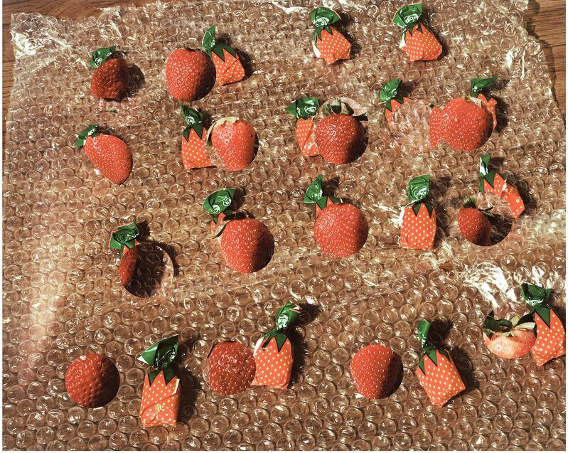 Lucas Blalock, 'Strawberries (fresh forever)', 2014, Photography, Pigmented inkjet print, The Museum of Modern Art