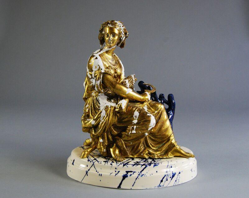 Matt Smith (British), 'Harvest', 2015, Sculpture, White Earthenware, Found Gilt, Plaster, Cynthia Corbett Gallery