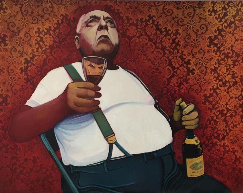Carlos Prieto, 'Napoli', 2021, Painting, Mixed media, Gallery Red