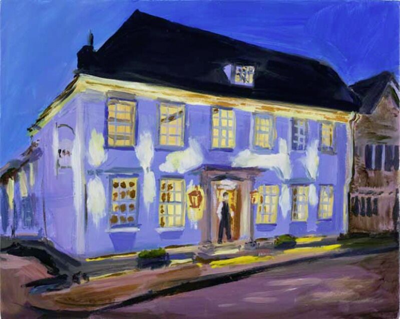 Karen Kilimnik, 'English Pub Inn, England', 2011, Painting, Water soluble oil color on canvas, Sprüth Magers