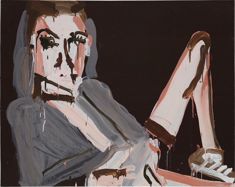 Katherine Bernhardt, 'Adidas Sneaker (My Adidas, LL Cool J.)', 2006, Painting, Acrylic on canvas, Phillips