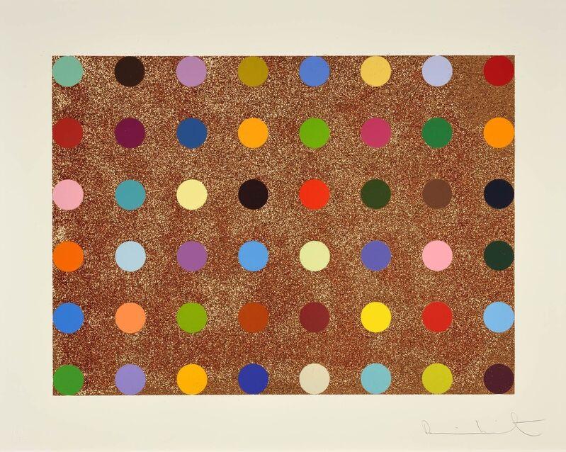 Damien Hirst, 'Proctolin', 2008, Print, Silkscreen with Bronze Glitters, Samhart Gallery