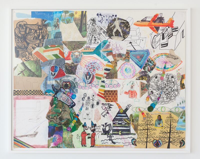 Joe Roberts, 'Untitled #6', 2010, Drawing, Collage or other Work on Paper, REYES   FINN