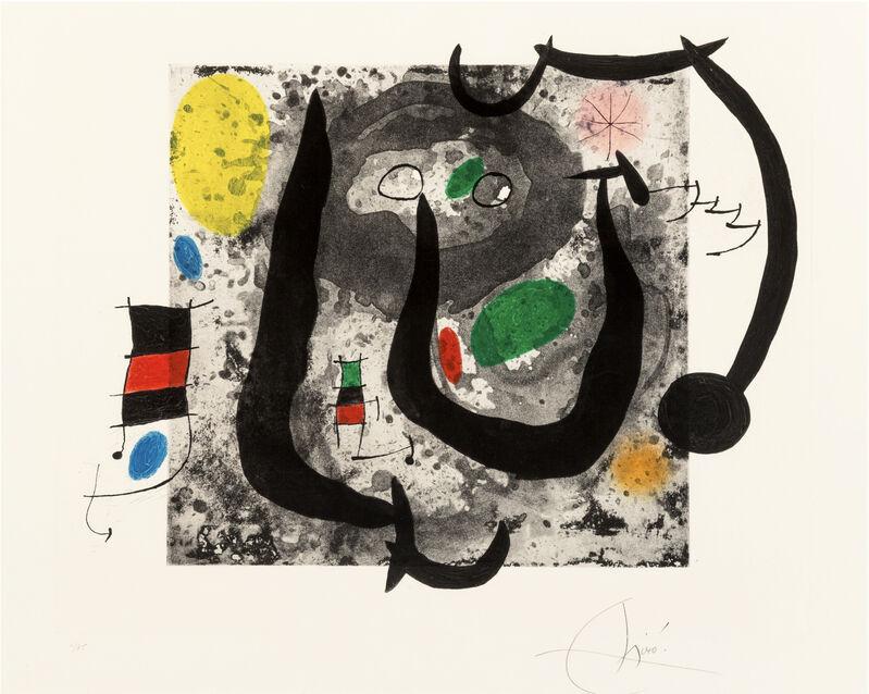 Joan Miró, 'Weapons of Sleep', 1970, Print, Etching and aquatint, Christopher-Clark Fine Art