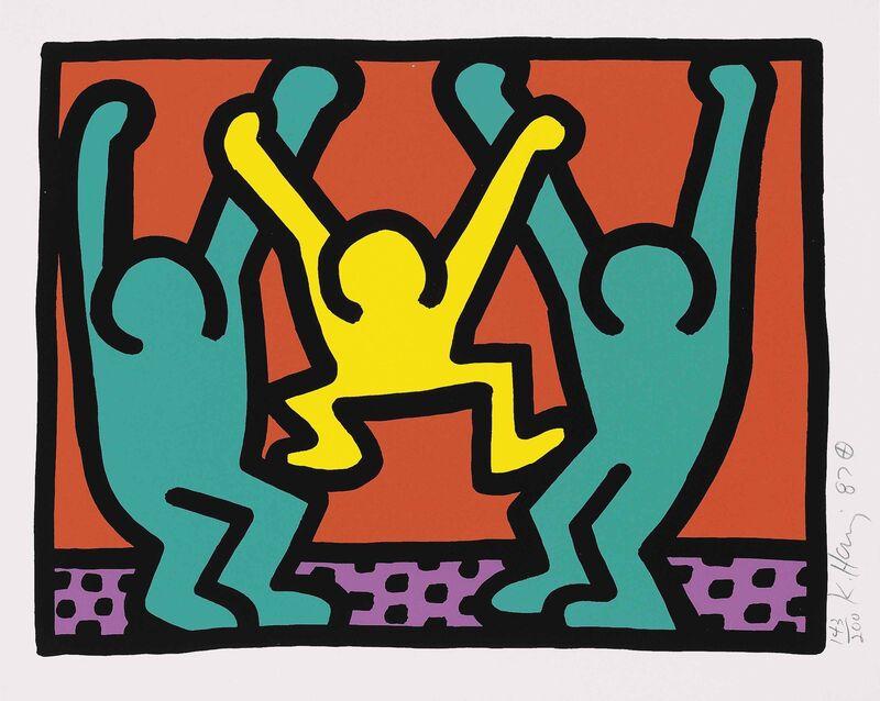 Keith Haring, 'Pop Shop I (2)', 1987, Print, Original screenprint in colors on wove paper, michael lisi / contemporary art