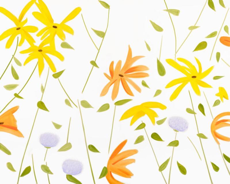Alex Katz, 'Summer Flowers 2', 2017, Print, Archival pigment inks on Crane Museo Max 365gsm paper, Artsy x Capsule Auctions