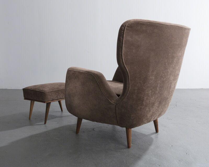 Carlo Hauner & Martin Eisler, 'Lounge chair and ottoman ', 1950s, Design/Decorative Art, Wood, upholstery, R & Company