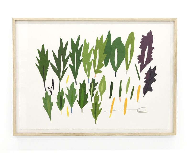 """Ryan Whelan, '""""Harvest I""""', 2018, Painting, Acrylic on Paper. Framed., pt.2"""