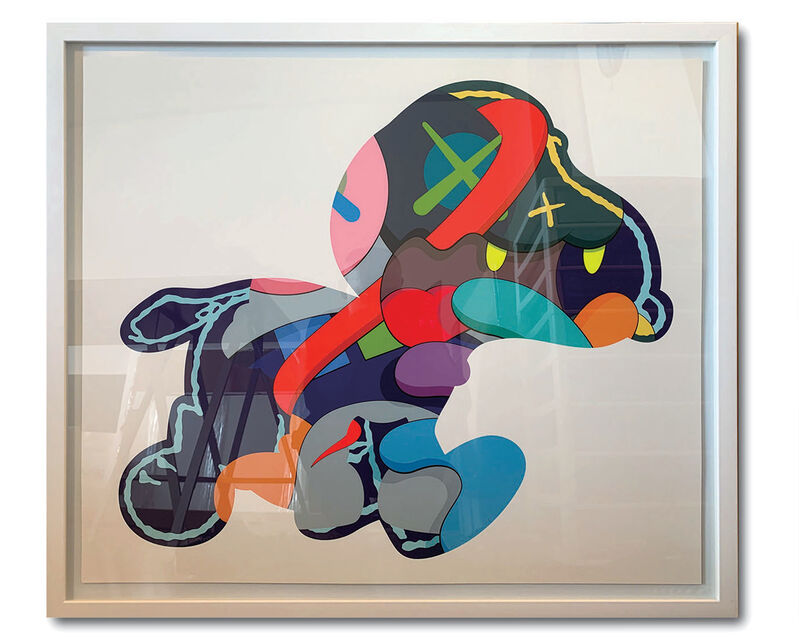 KAWS, 'No One's Home ; Stay Steady ; & The Things That Comfort ( complete set of 3 works)', 2015, Print, Silkscreen on paper, Curio