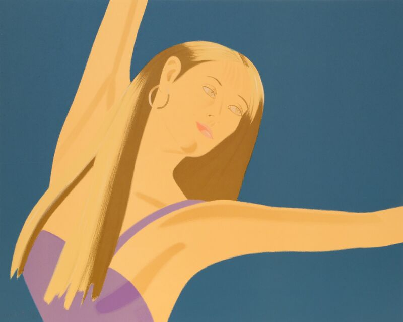 Alex Katz, 'Night: William Dunas Dance Suite', 1979, Print, Lithograph on Arches, RoGallery