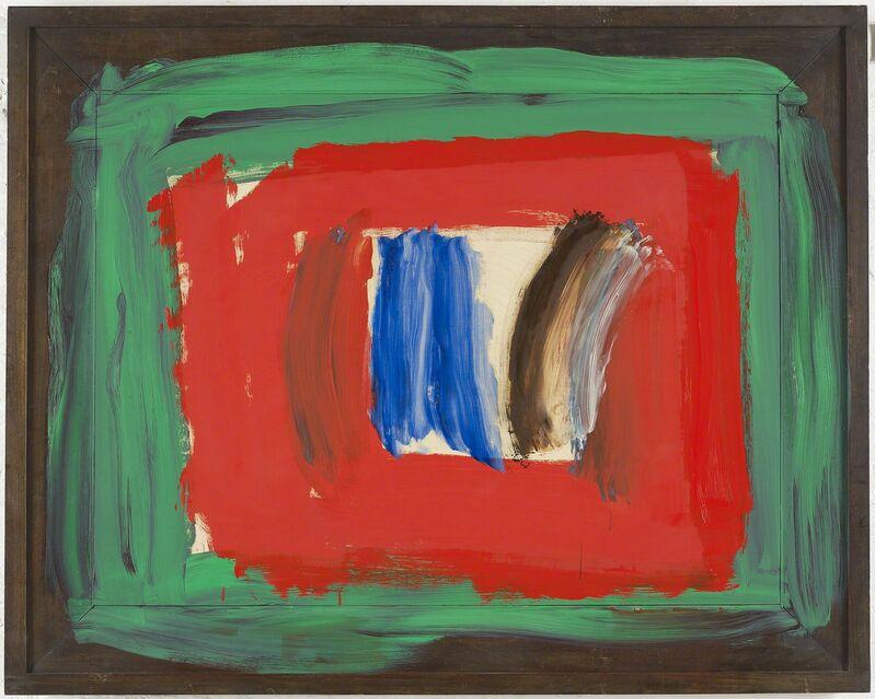 Howard Hodgkin, 'Paris', 2010-2016, Painting, Oil on wood, Gagosian