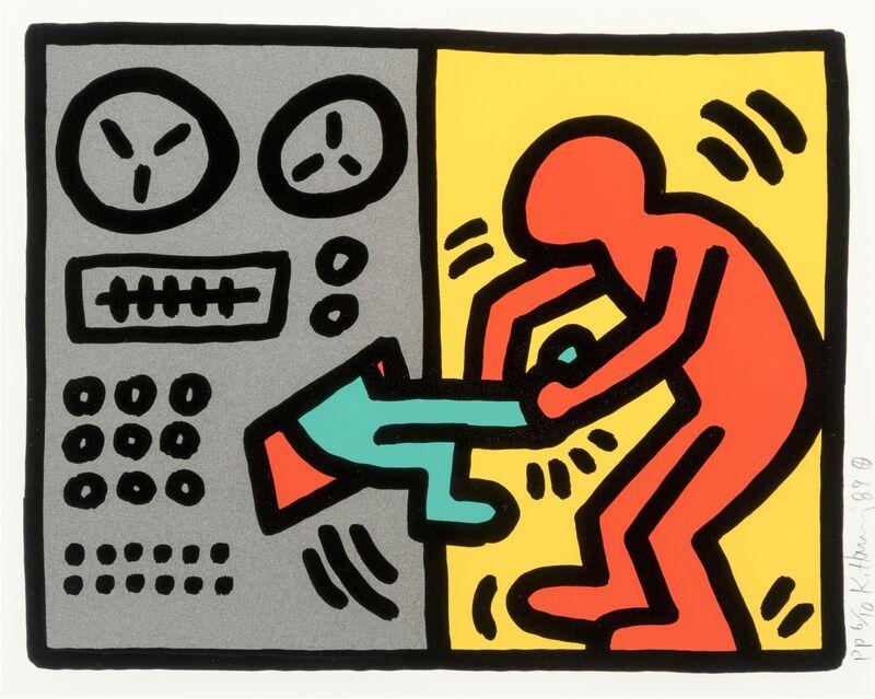 Keith Haring, 'Pop Shop III (1)', 1989, Print, Original screenprint in colors on wove paper, michael lisi / contemporary art