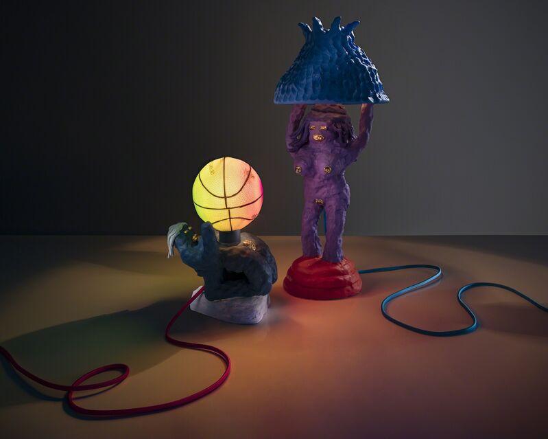 Katie Stout, 'Unique Girl Lamp', 2017, Design/Decorative Art, Painted ceramic, R & Company
