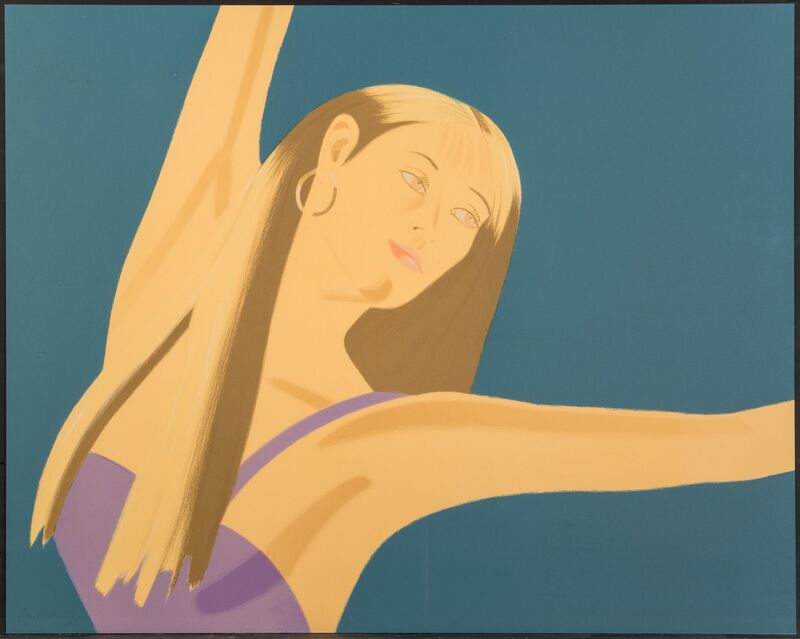 Alex Katz, 'Night: William Dunas Dance 4 Pamela', 1983, Print, Lithograph in colors on Arches Cover paper, Heritage Auctions
