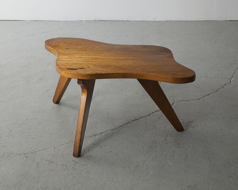 José Zanine Caldas, 'Organically shaped side table', 1950s, Design/Decorative Art, Plywood, R & Company