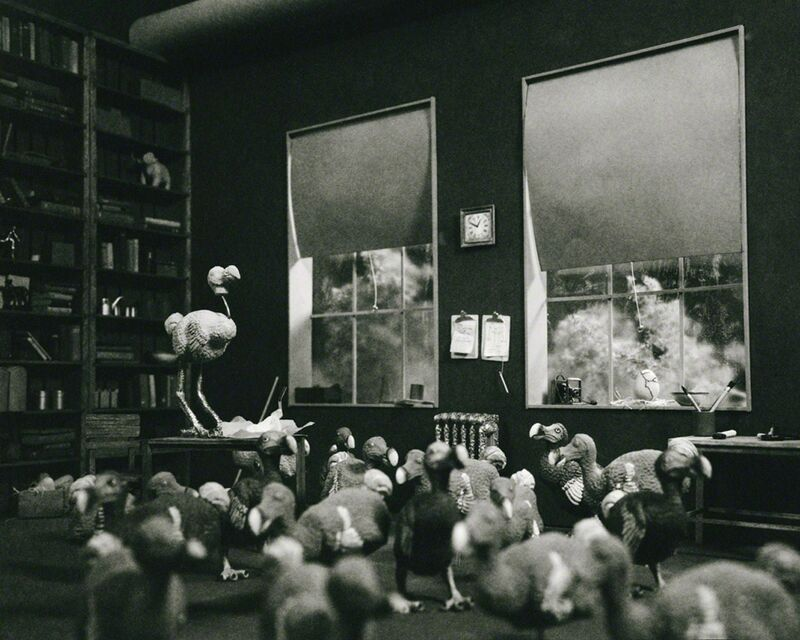 Lori Nix and Kathleen Gerber, 'Dodo Birds', 2009, Photography, Archival pigment print, ClampArt